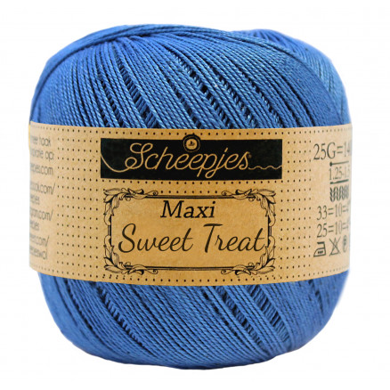 Image of   Scheepjes Maxi Sweet Treat Garn Unicolor 215 Royal Blue