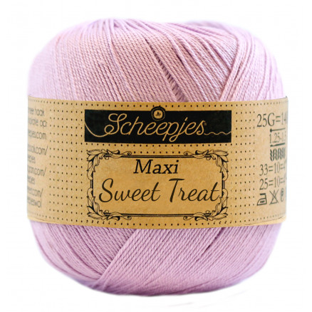 Image of   Scheepjes Maxi Sweet Treat Garn Unicolor 226 Light Orchid