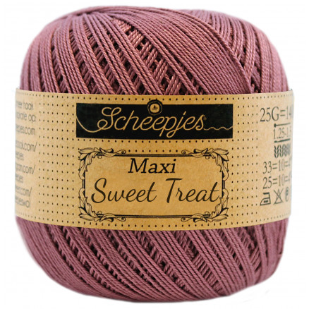 Image of   Scheepjes Maxi Sweet Treat Garn Unicolor 240 Amethyst