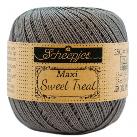 Image of   Scheepjes Maxi Sweet Treat Garn Unicolor 242 Metal Grey
