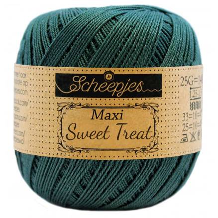 Image of   Scheepjes Maxi Sweet Treat Garn Unicolor 244 Spruce