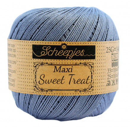 Image of   Scheepjes Maxi Sweet Treat Garn Unicolor 247 Bluebird