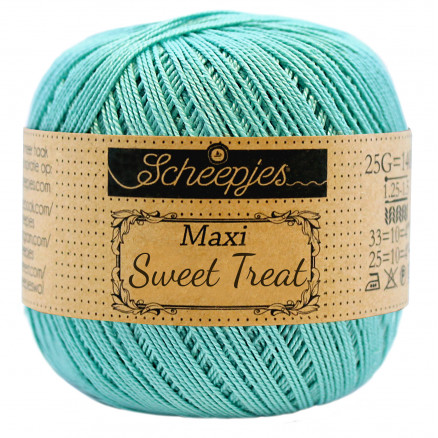 Image of   Scheepjes Maxi Sweet Treat Garn Unicolor 253 Tropic