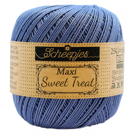 Image of   Scheepjes Maxi Sweet Treat Garn Unicolor 261 Capri Blue