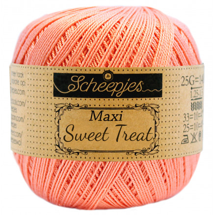 Image of   Scheepjes Maxi Sweet Treat Garn Unicolor 264 Light Coral