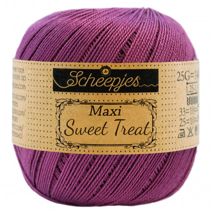 Image of   Scheepjes Maxi Sweet Treat Garn Unicolor 282 Ultra Violet