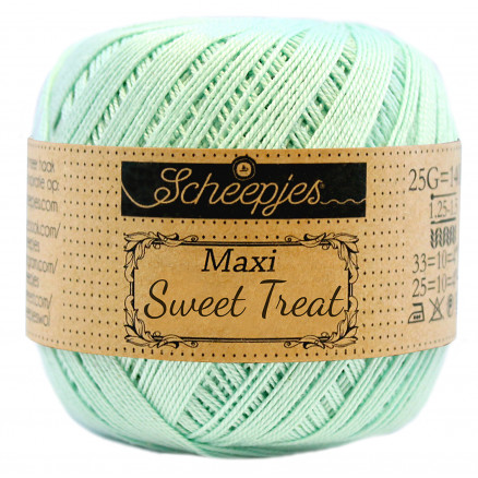 Image of   Scheepjes Maxi Sweet Treat Garn Unicolor 385 Crysteline