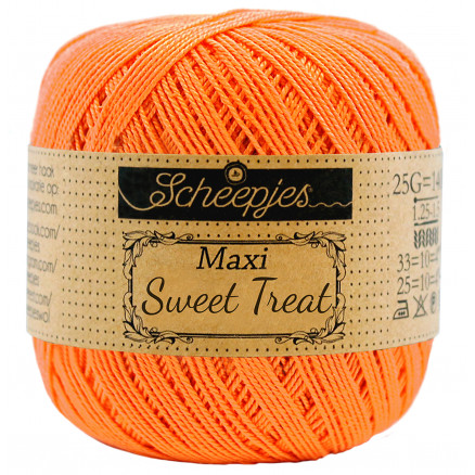 Image of   Scheepjes Maxi Sweet Treat Garn Unicolor 386 Peach