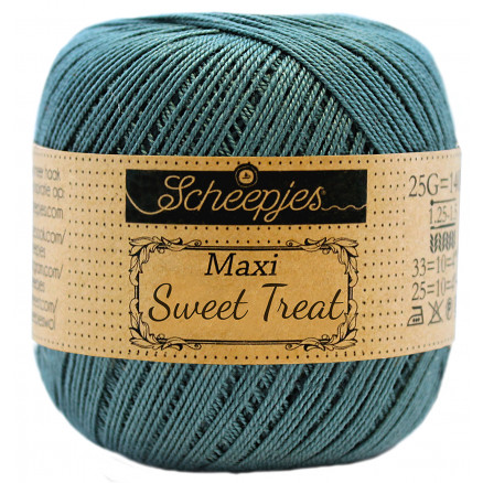 Image of   Scheepjes Maxi Sweet Treat Garn Unicolor 391 Deep Ocean