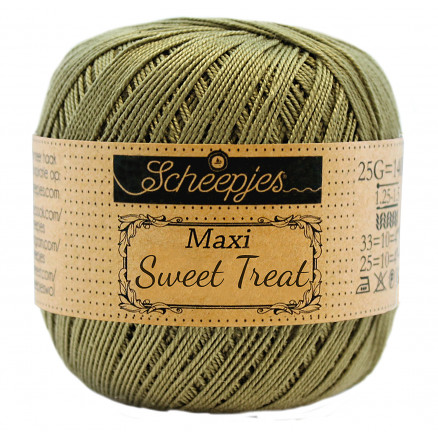 Image of   Scheepjes Maxi Sweet Treat Garn Unicolor 395 Willow