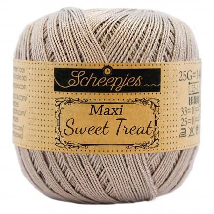 Image of   Scheepjes Maxi Sweet Treat Garn Unicolor 406 Soft Beige