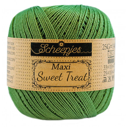 Image of   Scheepjes Maxi Sweet Treat Garn Unicolor 412 Forest Green