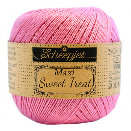 Image of   Scheepjes Maxi Sweet Treat Garn Unicolor 519 Fresia