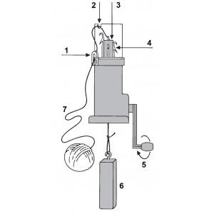 Strikkemølle mini / Strikkelise