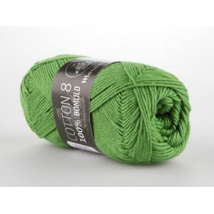 Mayflower Cotton 8/4 Garn Unicolor 1476 Græsgrøn