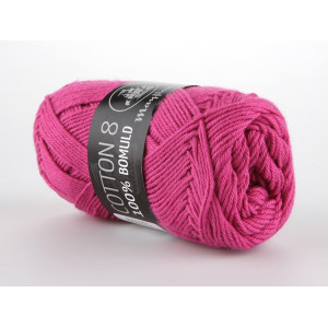 Mayflower Cotton 8/4 Garn Unicolor 1470 Cerise