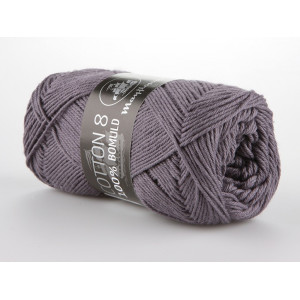 Mayflower Cotton 8/4 Garn Unicolor 1441 Grålilla