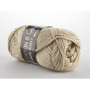 Mayflower Cotton 8/4 Garn Unicolor 1438 Beige