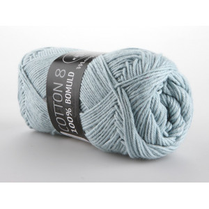 Image of   Mayflower Cotton 8/4 Garn Unicolor 1434 Lys Grågrøn