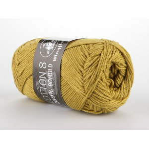 Mayflower Cotton 8/4 Garn Unicolor 1433 Lys Oliven