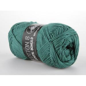 Mayflower Cotton 8/4 Garn Unicolor 1429 Petrol