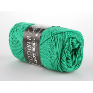 Mayflower Cotton 8/4 Garn Unicolor 1427 Grøn