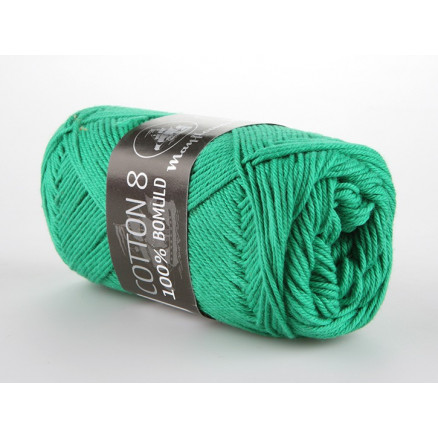 Image of   Mayflower Cotton 8/4 Garn Unicolor 1427 Grøn