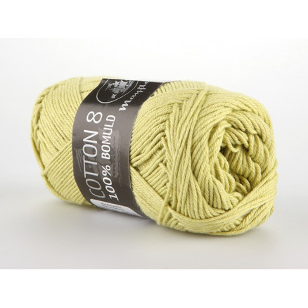 Image of   Mayflower Cotton 8/4 Garn Unicolor 1426 Lime