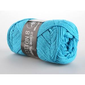 Mayflower Cotton 8/4 Garn Unicolor 1424 Turkis