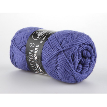 Image of   Mayflower Cotton 8/4 Garn Unicolor 1417 Lavendel