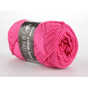 Mayflower Cotton 8/4 Garn Unicolor 1410 Pink