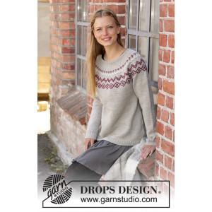 Old Mill Pulloverby DROPS Design - Bluse Strikkeopskrift str. S - XXXL