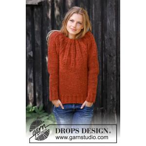 Clemenceby DROPS Design - Bluse Strikkeopskrift str. S - XXXL