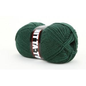 Mayflower Hit Ta-Too Garn Unicolor 01 Mørkegrøn