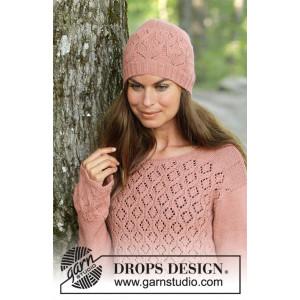 Lady Angelikaby DROPS Design - Hue Strikkeopskrift str. S/M - L/XL