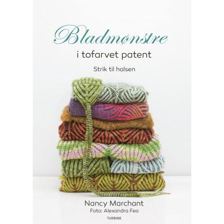 Image of   Bladmønstre i tofarvet patent - Bog af Nancy Marchant