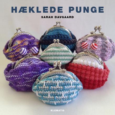 Image of   Hæklede punge - Bog af Sarah Davgaard