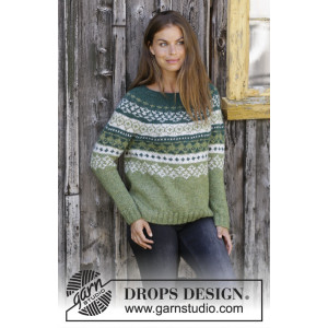 Valencia Cardigan by DROPS Design Knitted Jacket Pattern Sizes S XXXL