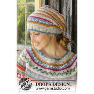 Winter Carnival Hat by DROPS Design - Hue Strikkeopskrift str. S/M - L/XL