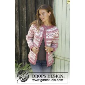 Selvik Jacket by DROPS Design - Jakke Strikkeopskrift str. S - XXXL