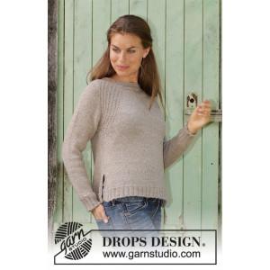 Wednesday Mood by DROPS Design - Bluse Strikkeopskrift str. S - XXXL