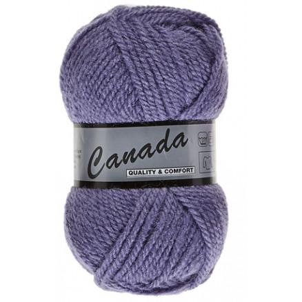 Image of   Lammy Canada Garn Unicolor 722 Lilla