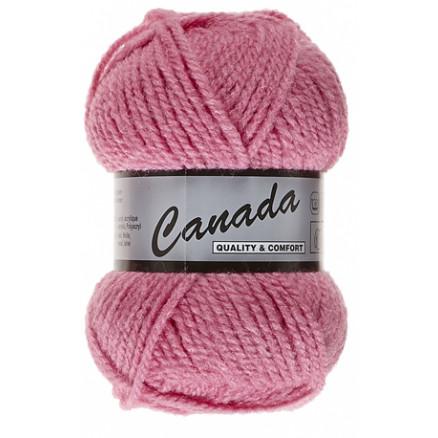 Image of   Lammy Canada Garn Unicolor 720 Mørk Rosa