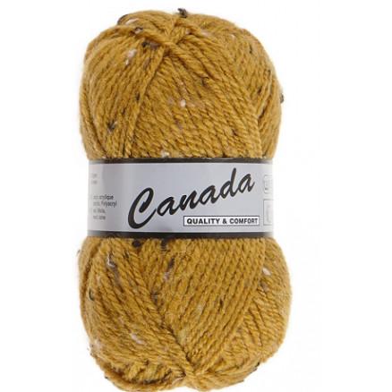 Image of   Lammy Canada Garn Mix 490 Sennep/Natur/Brun
