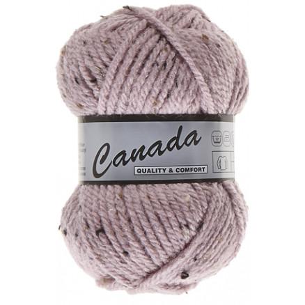 Image of   Lammy Canada Garn Mix 475 Lyserød/Brun