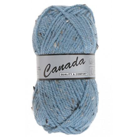 Image of   Lammy Canada Garn Mix 462 Lyseblå/Grå/Brun