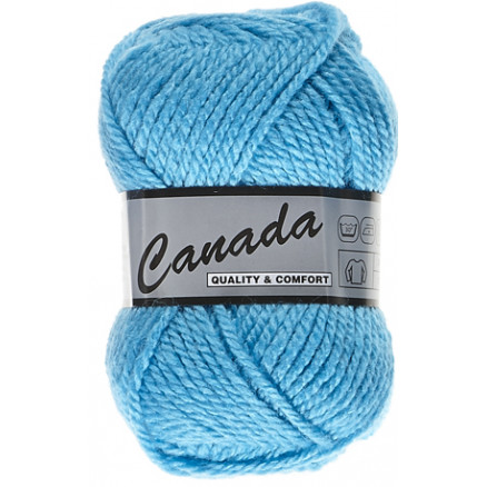 Image of   Lammy Canada Garn Unicolor 459 Turkis