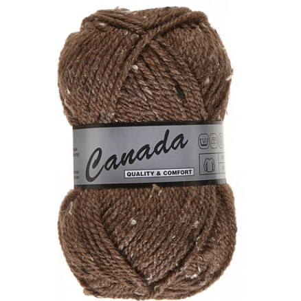 Image of   Lammy Canada Garn Mix 415 Brun/Natur
