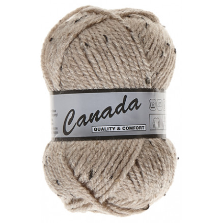 Image of   Lammy Canada Garn Mix 410 Beige/Brun