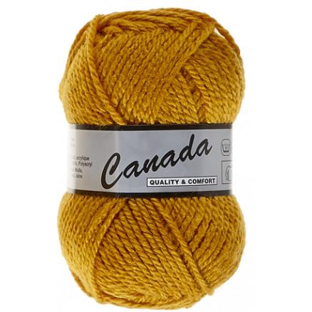 Image of   Lammy Canada Garn Unicolor 350 Sennep